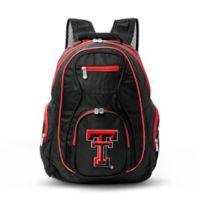 Texas Tech University Laptop Backpack in Black