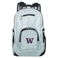 University of Washington Laptop Backpack in Grey