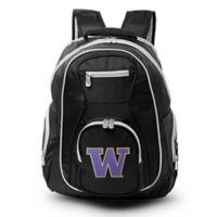 University of Washington Laptop Backpack in Black