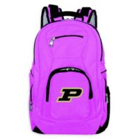 Purdue University Laptop Backpack in Pink