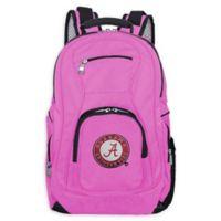 University of Alabama Laptop Backpack in Pink