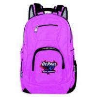DePaul University Laptop Backpack in Pink