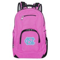 University of North Carolina Laptop Backpack in Pink