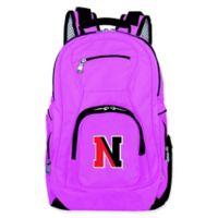 Northeastern University Laptop Backpack in Pink