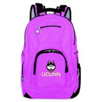 University of Connecticut Laptop Backpack in Pink