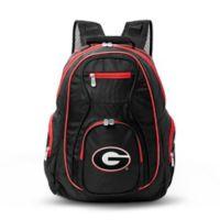 University of Georgia Laptop Backpack in Black