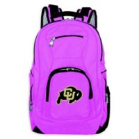 University of Colorado Laptop Backpack in Pink