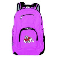 California State University Fresno Laptop Backpack in Pink