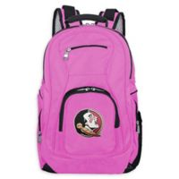 Florida State University Laptop Backpack in Pink