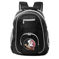 Florida State University Laptop Backpack in Black