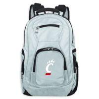 University of Cincinnati Laptop Backpack in Grey