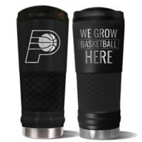 NBA Indiana Pacers 24 oz. Powder Coated STEALTH Draft Tumbler