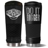 NBA New Orleans Pelicans 24 oz. Powder Coated STEALTH Draft Tumbler