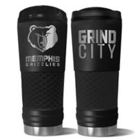 NBA Vancouver Grizzlies 24 oz. Powder Coated STEALTH Draft Tumbler