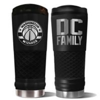 NBA Washington Wizards 24 oz. Powder Coated STEALTH Draft Tumbler
