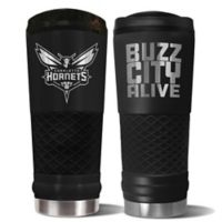 NBA Charlotte Hornets 24 oz. Powder Coated STEALTH Draft Tumbler