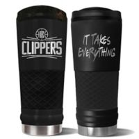 NBA Los Angeles Clippers 24 oz. Powder Coated STEALTH Draft Tumbler