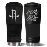 NBA Houston Rockets 24 oz. Powder Coated STEALTH Draft Tumbler