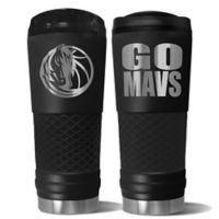 NBA Dallas Mavericks 24 oz. Powder Coated STEALTH Draft Tumbler