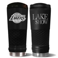 NBA Los Angeles Lakers 24 oz. Powder Coated STEALTH Draft Tumbler