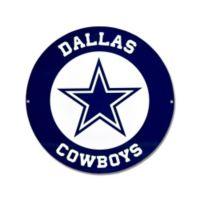 NFL Dallas Cowboys 12-Inch x 12-Inch Laser Cut Street Sign