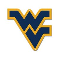 West Virginia University 11-Inch x 12-Inch Laser Cut Street Sign