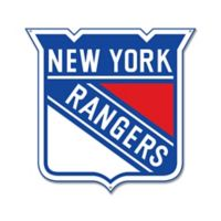 NHL New York Rangers 12-Inch x 12-Inch Laser Cut Street Sign