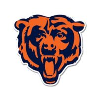 NFL Chicago Bears 11-Inch x 11-Inch Laser Cut Street Sign