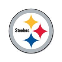 NFL Pittsburgh Steelers 12-Inch x 12-Inch Laser Cut Street Sign