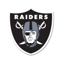 NFL Oakland Raiders 10-Inch x 11-Inch Laser Cut Street Sign