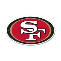 NFL San Francisco 49ers 9-Inch x 13-Inch Laser Cut Street Sign