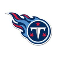 NFL Tennessee Titans 12-Inch x 12-Inch Laser Cut Street Sign