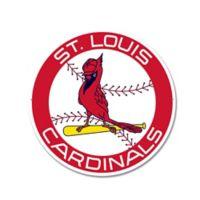 MLB St. Louis Cardinals 1966 Logo 12-Inch x 12-Inch Laser Cut Street Sign