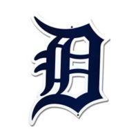 MLB Detroit Tigers Stylized D Logo 12-Inch x 12-Inch Laser Cut Street Sign