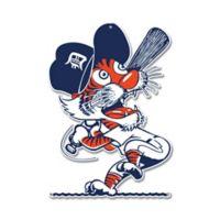 MLB Detroit Tigers Swinging Kitty Logo 12-Inch x 12-Inch Laser Cut Street Sign