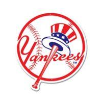MLB New York Yankees 12-Inch x 12-Inch Laser Cut Street Sign