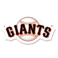 MLB San Francisco Giants 12-Inch x 12-Inch Laser Cut Street Sign