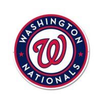 MLB Washington Nationals 12-Inch x 12-Inch Laser Cut Street Sign