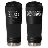 NHL Philadelphia Flyers 24 oz. Powder Coated STEALTH Draft Tumbler