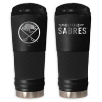 NHL Buffalo Sabres 24 oz. Powder Coated STEALTH Draft Tumbler