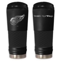 NHL Detroit Red Wings 24 oz. Powder Coated STEALTH Draft Tumbler