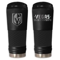 NHL Vegas Golden Knights 24 oz. Powder Coated STEALTH Draft Tumbler