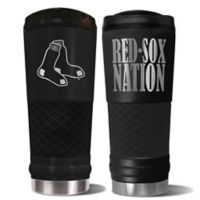 MLB Boston Red Sox 24 oz. Powder Coated Stealth Draft Tumbler