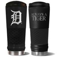 MLB Detroit Tigers 24 oz. Powder Coated Stealth Draft Tumbler