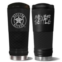 MLB Houston Astros 24 oz. Powder Coated Stealth Draft Tumbler