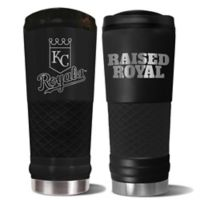 MLB Kansas City Royals 24 oz. Powder Coated Stealth Draft Tumbler