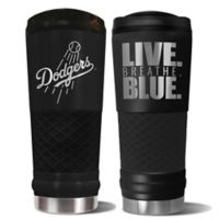 MLB Los Angeles Dodgers 24 oz. Powder Coated Stealth Draft Tumbler