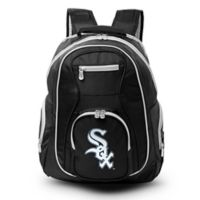 MLB Chicago White Sox 19-Inch Laptop Backpack in Black