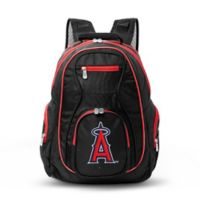 MLB Los Angeles Angels 19-Inch Laptop Backpack in Black