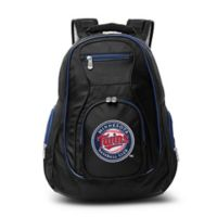 MLB Minnesota Twins 19-Inch Laptop Backpack in Black